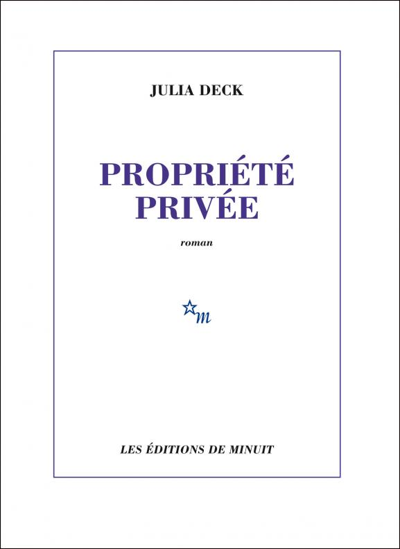 Deck-propriété-privée